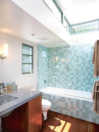Three Tranquil Bathrooms