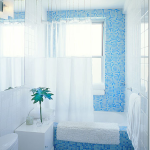 Andrew Suvalsky's Blue Bathrooms