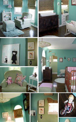 Littlemama's Turquoise Room