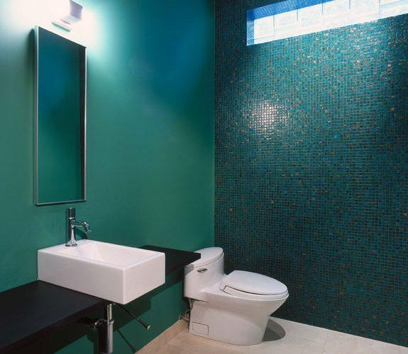 Monochromatic Bathroom