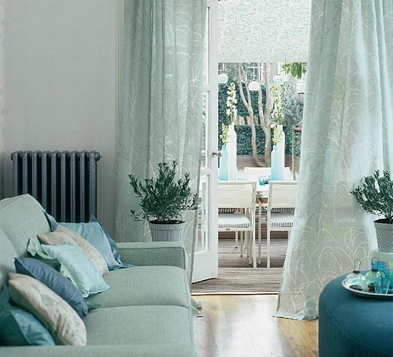 Lovely Turquoise Indoors and Out