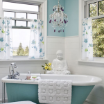 Charming Aqua Bathroom