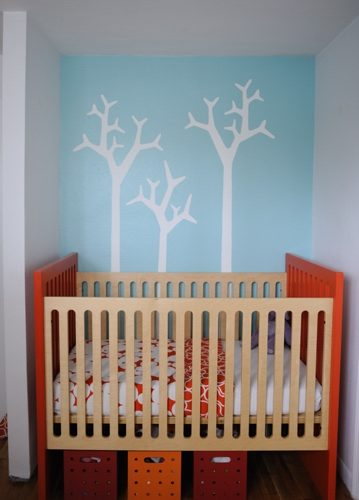 Clean and Modern Nursery