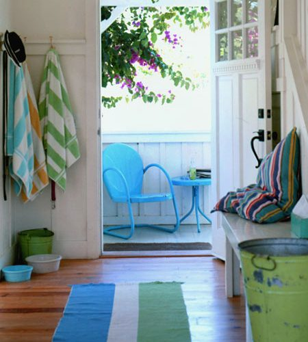 Bright and Airy Entryway