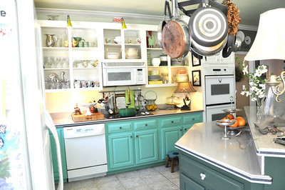 The Retro Cottage Kitchen