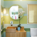 Fresh and Colorful Bathrooms