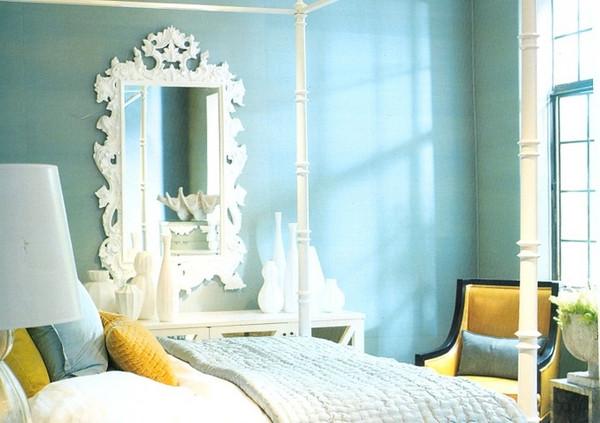 Sunny Blue Bedroom