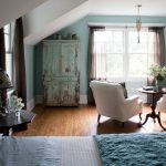 Turquoise Country Bedroom