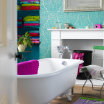 Vibrant Bathroom