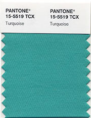 2010 Pantone Color of the Year: TURQUOISE!