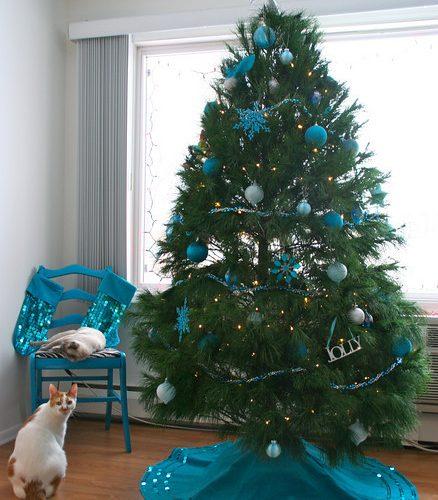 My Turquoise Christmas Tree