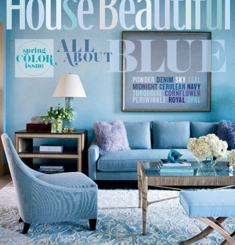 All About Blue with House Beautiful