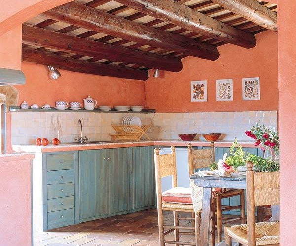 Rustic Spanish Kitchen