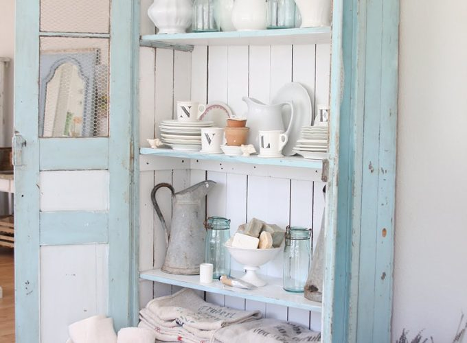Dreamy Blue Cabinet