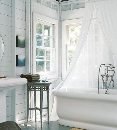 Romantic Cottage Bathroom