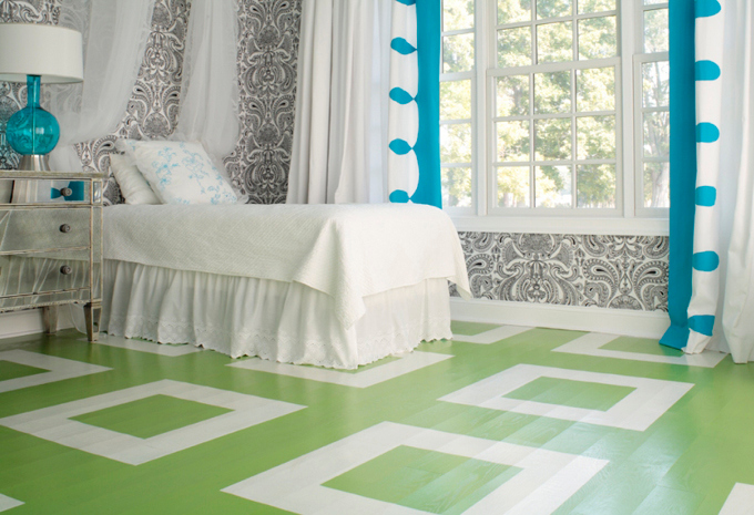 I Adore Painted Floors!