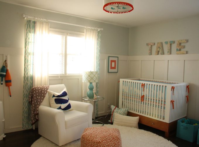 Cottage Modern Nursery