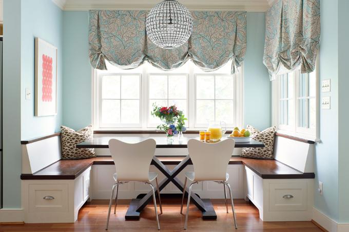 Suellen gregory interior design house of turquoise for Como hacer un bando para cortinas