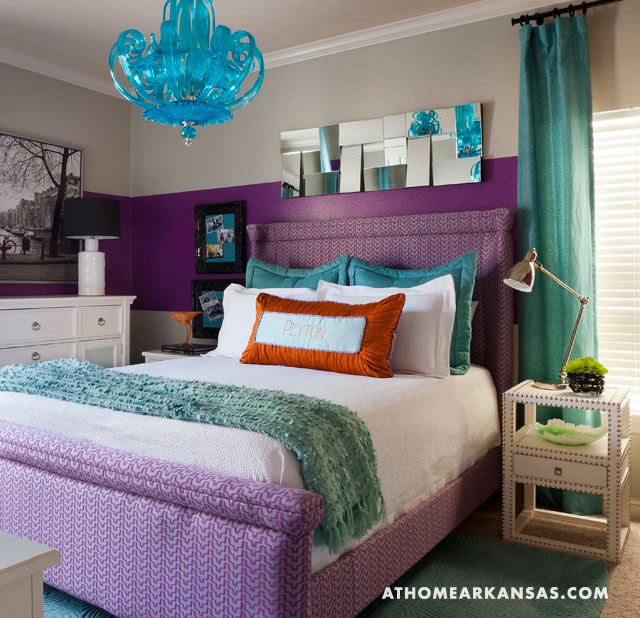 Hot Pink And Turquoise Girls Bedroom Makeover: House Of Turquoise
