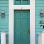 Turquoise Houses of Seaside, Florida