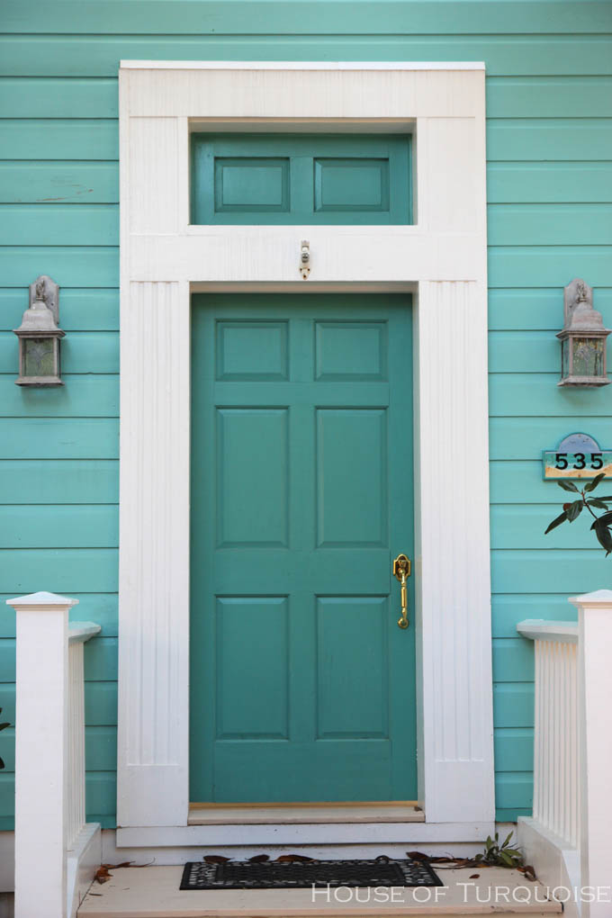 Turquoise Houses Of Seaside Florida House Of Turquoise