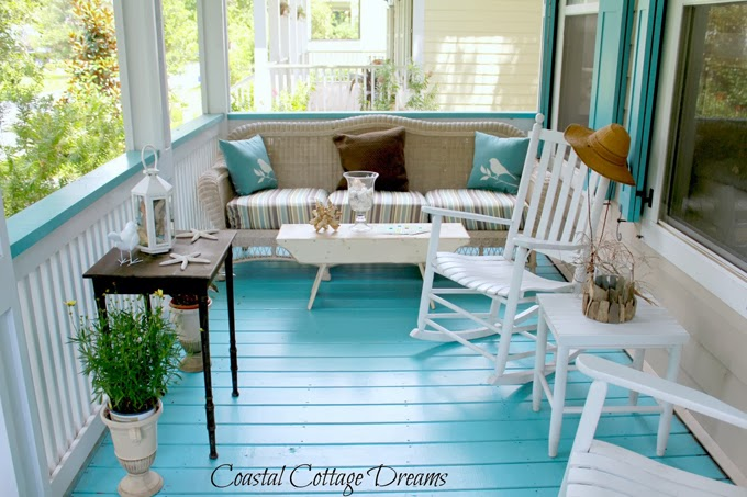 Coastal Cottage Dreams House of Turquoise