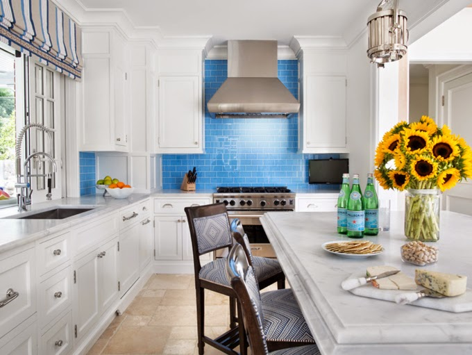 brooks and falotico blue backsplash. Black Bedroom Furniture Sets. Home Design Ideas