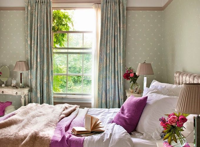 Colorful English Country Home