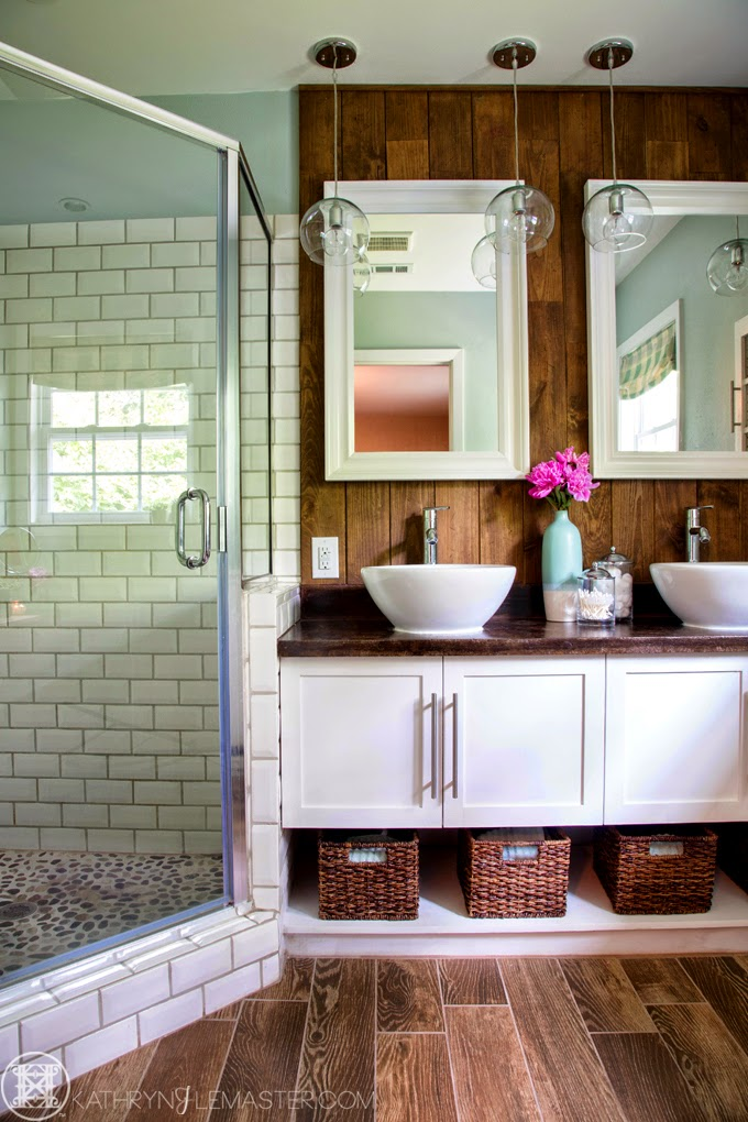 Kathryn j lemaster art design house of turquoise for Bath remodel little rock ar