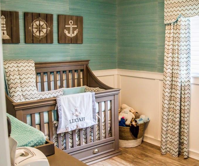 Terrific Teal Beige Bedroom