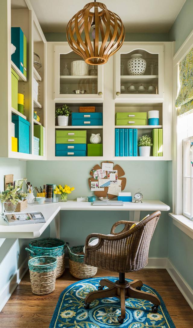 blue-green-office