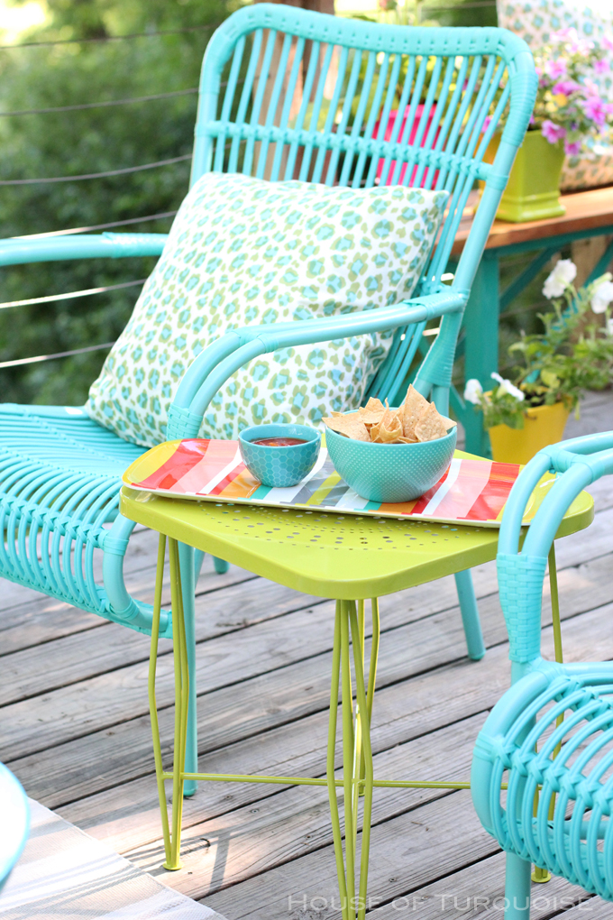 My Deck Makeover Reveal House Of Turquoise