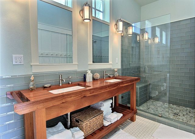 Master Bathroom Beach House sea ya' – cinnamon shore