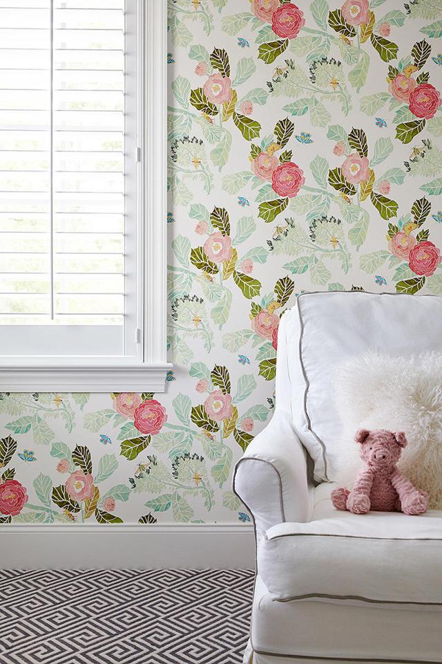 Gallery For gt Anthropologie Wallpaper Bedroom