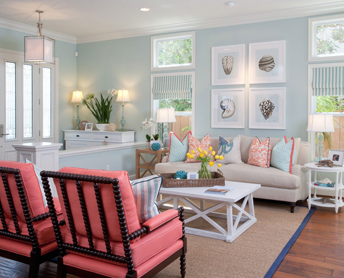 gray and turquoise living room decorating ideas. AGK Design Studio  House of Turquoise