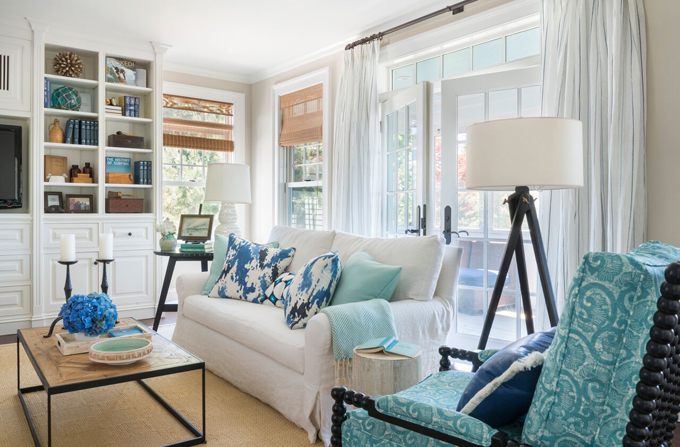 Kate jackson design house of turquoise for Comedor waterdog royal house