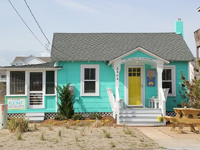 The Tale Of A Mermaid Nags Head Nc House Of Turquoise