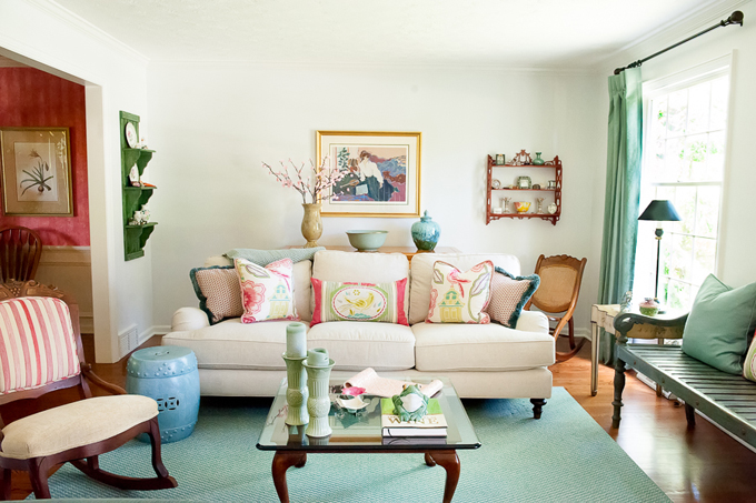 House Of Turquoise Living Room Prepossessing Guest Blogger Ingrid Porter Of Ingrid Porter Interiors Design Decoration