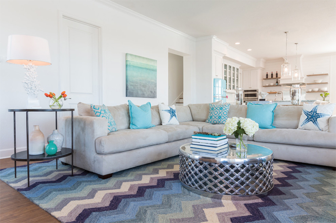 Laura U Interior Design House of Turquoise
