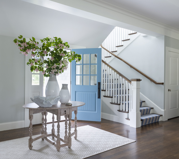 Beach House Entry Tables: Digs Design Company