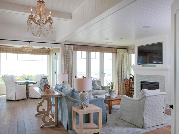 Kim grant design house of turquoise - Beach house paint colors interior ...