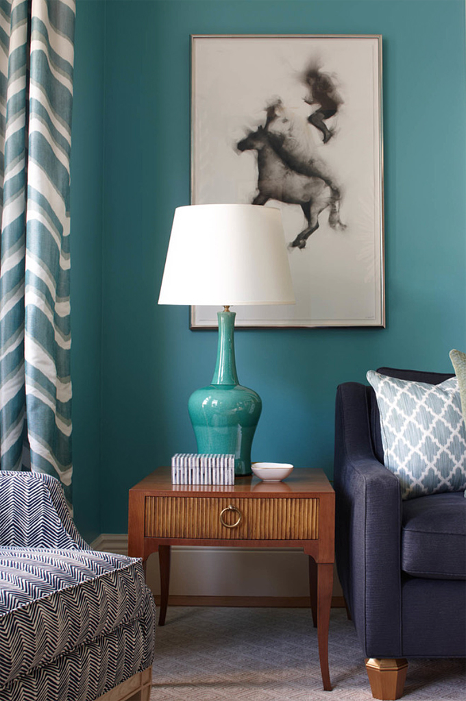 Massucco warner miller interior design house of turquoise for Benjamin moore turquoise colors