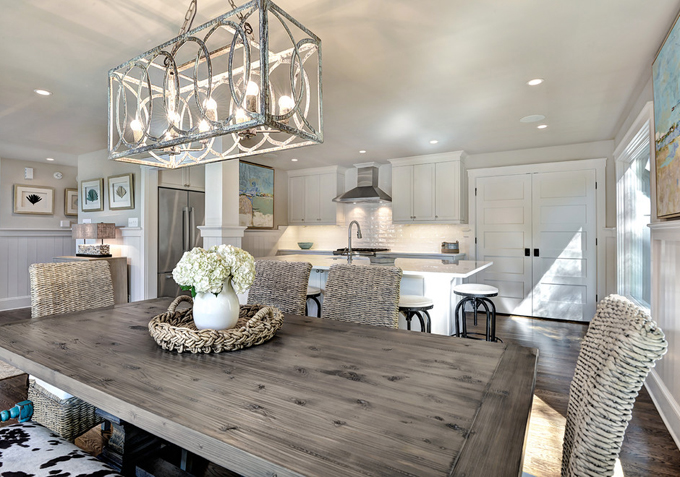 Grey Dining Table at Home and Interior Design Ideas