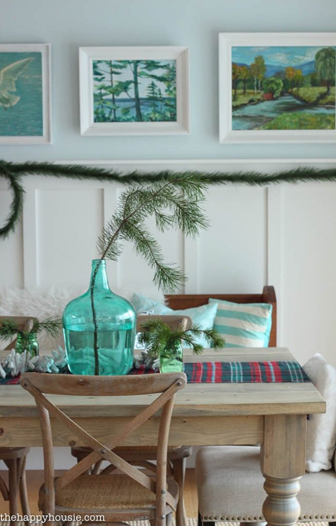 Lovely Beach Cottage Living Room Turquoise
