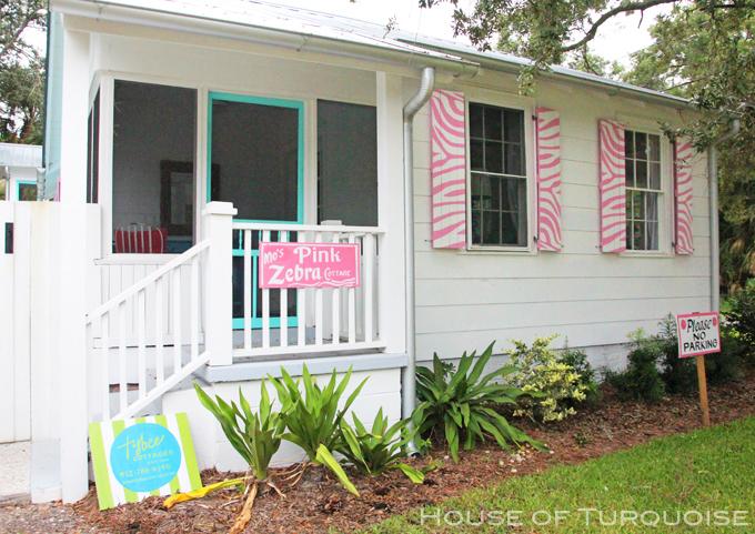 Mo's Pink Zebra Cottage – Tybee Island, GA