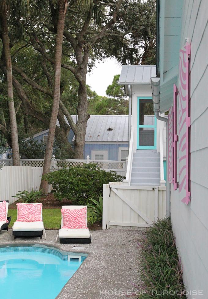 The Pink House Tybee Island Ga