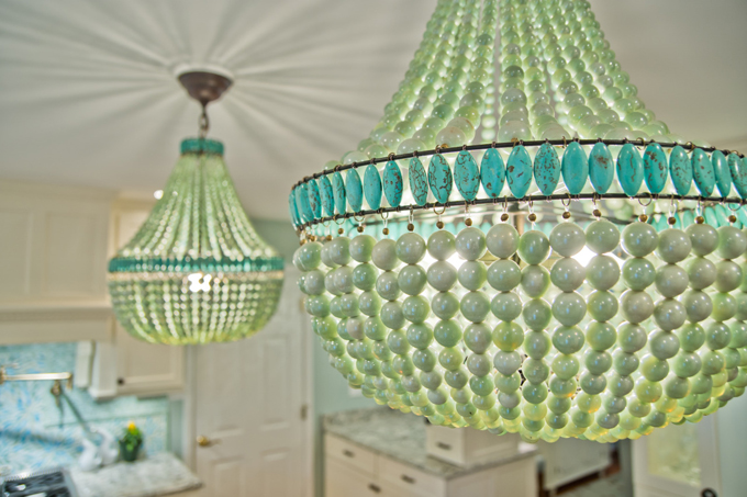 The Talented Designer Worked With Greg Terbrock Design Build To Create The  Stunning Sea Inspired Dream Kitchen In ...