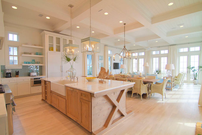 Open Kitchen Dining Room Floor Plans: House Of Turquoise