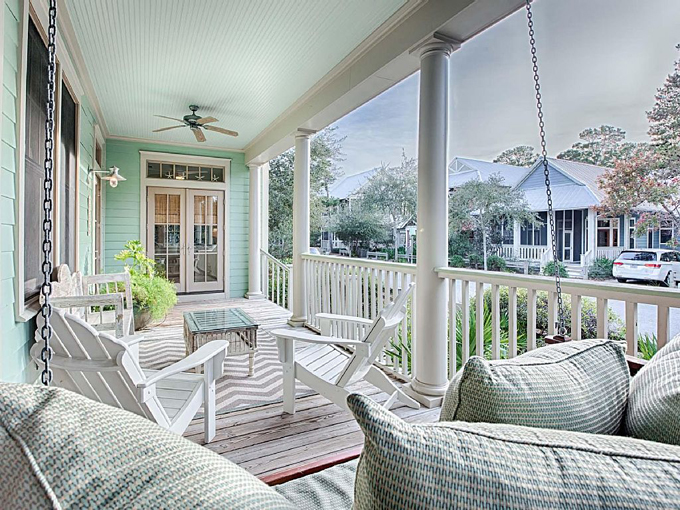 Mint julep watercolor florida house of turquoise for Watercolor florida house plans