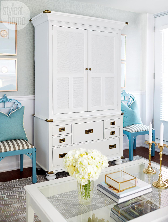 Just Like Me, Turquoise Has Been The Favorite Color Of Interior Designer  Olivia Hnatyshin Of Olivia Lauren Interior Design Since She Was Littleu2026she  Has ...